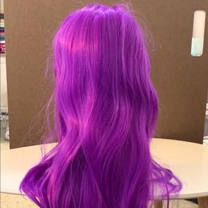 Purple Wig: Great for Halloween